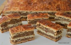 Romanian Desserts, World Recipes, Food Cakes, Sweet Memories, Creative Food, Healthy Desserts, Cake Cookies, Cake Recipes, Bakery