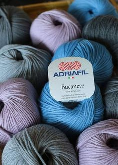 #AdriafilYarn here's #Bucaneve, the sweetness of its fiber.. the delicacy of its shades. Look at them all here ▶ http://bit.ly/AdriafilBucaneveMerinoWool … #primavera #Adriafil #spring #yarn #knitting