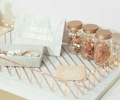 Rose gold #luxe