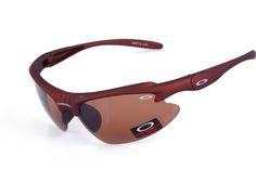 Oakley Commit Sq Semi-Rimless Brown BOP
