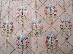 ribbon silk embroidery - Buscar con Google