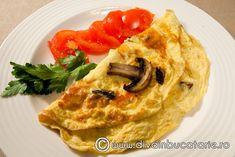 omleta-cu-ciuperci Pancakes, Breakfast, Food, Morning Coffee, Meal, Crepes, Essen, Pancake, Hoods