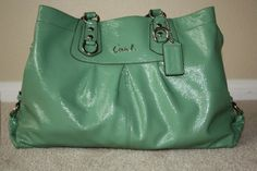 Like the color of this Coach purse.