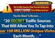 The #Crazy_Traffic_Explosion review would start with giving a hint on the contents in the package. The developer of this package claims it to offer the email marketers twenty sources that can pave the way for the visit of Hundred million new customers each month.