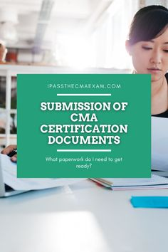 There are a lot of documents needed to submit for the CMA Certification. Do you have everything ready? Check out this post to learn more about what you need. #CMA #CMACertification Exam Study Tips, Exams Tips, Career Path, Career Advice, Last Exam, Enrolled Agent, Accounting Student, Cpa Exam