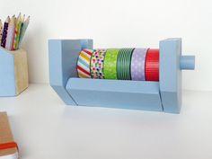 Organizador de washitapes para 6 rollos Rombo por Inkcolora en Etsy