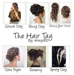 """""""Hair Tag"""" by ry-luve on Polyvore featuring Reclaimed Vintage"""