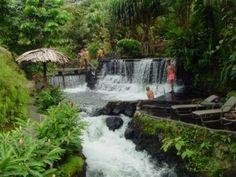 Costa Rica.  #Costa #Rica #Waterfall  #Greenery