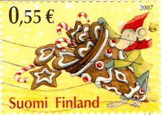 Finnish stamp Flickr