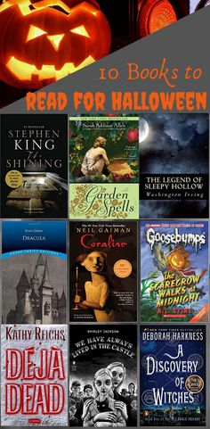 Spooky books to read for Halloween! This Halloween book list features scary books, books about witches, magic and more! Read these Top 10 Halloween books to get ready for fall!