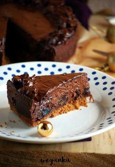 Jagielnik śliwka w czekoladzie Cake Recipes, Vegan Recipes, Dessert Recipes, Flan, Good Food, Yummy Food, Healthy Desserts, Healthy Food, Polish Recipes