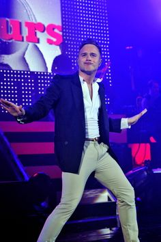 Olly Murs performs at Hammersmith Apollo on May 24 2011 in London England