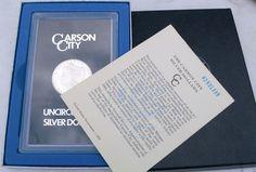1882-CC $1 Morgan Silver Dollar GSA-Carson City-Free USA Shipping-MS BU UNC