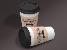 Paper Coffee Cup Mock-Ups by pmvchamara on Creative Market