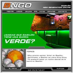 Año 2002 - DIMS crea el segundo sitio web para la discoteca Basilón de San José de Mayo