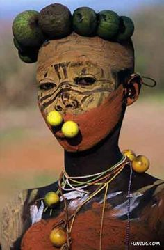 Africa's beautiful tribe. Omo valley