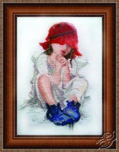 Red Hat - Cross Stitch Kits by Alisena - 1001
