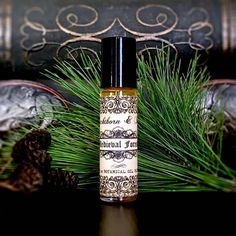 MEDIEVAL FOREST Artisan Botanical Elixir Oil Roll-On Natural Perfume Potion