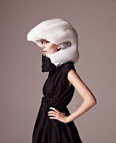 "HÖVDING - The Invisible Bicycle Helmet  (shown when helmet is activated, which would otherwise be ""invisble"" in a collar, see previous pin)"