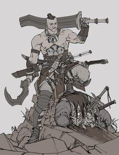 ArtStation - Blade master, David Sequeira