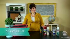 My Craft Channel: Awesome Spray Paint Tips