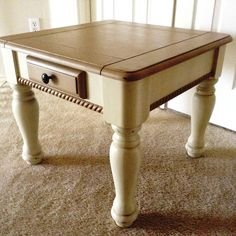 coffee and end tables solid pine and dark walnut stain on pinterest. Black Bedroom Furniture Sets. Home Design Ideas