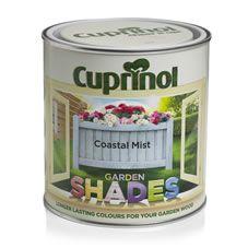 Summerhouse £10 Cuprinol Garden Shades Coastal Mist 1L