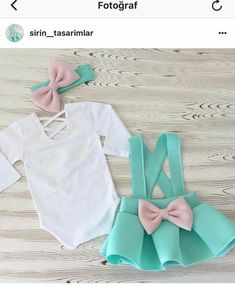 Baby boy outfit with hat set. Gray mint Coming home outfit! Sewing Baby Clothes, Cute Baby Clothes, Baby Sewing, Doll Clothes, Baby Girl Dresses, Baby Dress, Baby Girl Fashion, Kids Fashion, Tutus For Girls