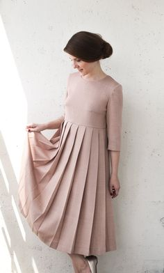 Winter Skirt Outfit, Winter Dresses, Skirt Outfits, Modest Wedding Dresses, Maternity Dresses, Evening Dresses With Sleeves, Bridesmaids, Bridesmaid Dresses, Cute Girl Dresses