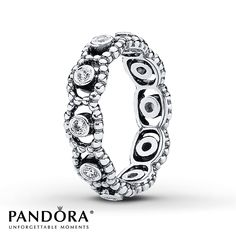 Jared - Pandora Ring CZ Her Majesty Sterling Silver