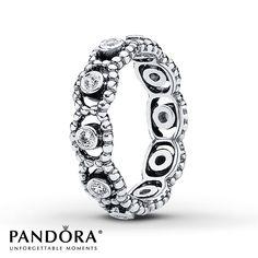 Jared - Pandora Ring CZ Her Majesty Sterling Silver