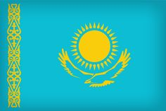 Kazakhstan Flag - Kazakhstan Flags - Asia Flags - Country Flags from Around Countries And Flags, Largest Countries, Countries Of The World, We Are The World, Flags Of The World, Bandeira Do Sri Lanka, Bandeira Do Nepal, Kazakh Language, Kazakhstan Flag