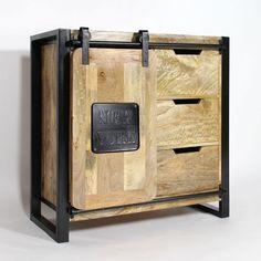 wood storage cabinet wood Source by charmainlee Industrial Living, Industrial Furniture, Industrial Style, Iron Furniture, Furniture Decor, New York Architecture, Wood Storage Cabinets, Metal News, Shabby