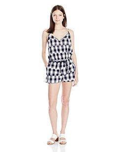 7e9f27fc39015f OBEY Juniors Hopper Playsuit Romper Bone Multi L     BEST VALUE BUY on  Amazon  RomperisSexy