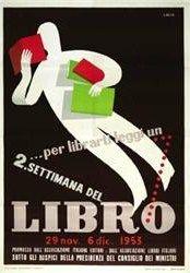 2. Settimana Del Libro Poster by Alfredo Lalia