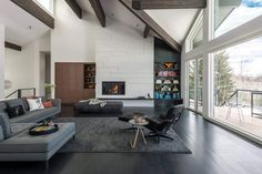 Home in Jackson by Carney Logan Burke Architects