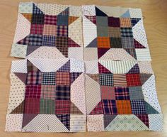 Bonnie Hunter's Sister's Choice quilt block.  Would LOVE to make a quilt with this block!