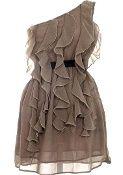 Mocha Frills Dress, Dresses for Cait's Wedding!!