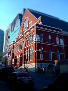 Ryman Auditorium Nashville, TN