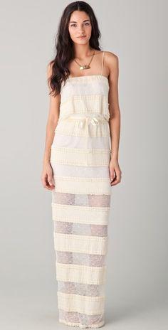 Stunning. #lace #dress