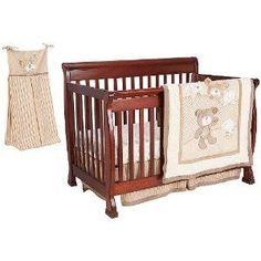 Duvet And Bumper Included Devoted Baby Cot Bed Neutral Wooden Bundle Yellow Bedding