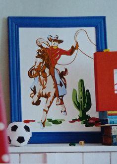 Cath Kidston's retro cowboy.
