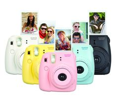 Hong Kong Free Shipping with Tracking No. Fujifilm Instax Mini 8 Pink Black Blue Yellow White Instant Camera-in Film Camera from Electronics...