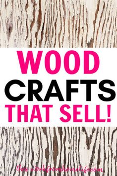10 Handmade Wood Projects That Sell Handmade wood projects that sell well on Etsy and in craft fairs. If you want to start a woodw. Wood Crafts That Sell, Diy Crafts To Sell On Etsy, Wood Projects That Sell, Wood Projects For Beginners, Small Wood Projects, Scrap Wood Projects, Woodworking Projects That Sell, Wooden Crafts, Wooden Diy