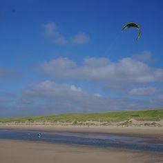 Het Nederlandse strand.