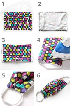 How to Make a Fabric Face Mask The coronavirus pandemic, a need has emerged for personal protective equipment. To help, here's a tutorial for how to make a fabric face mask. Diy Sewing Projects, Sewing Hacks, Sewing Tutorials, Sewing Crafts, Sewing Tips, Easy Face Masks, Diy Face Mask, Face Masks For Kids, Sew Ins