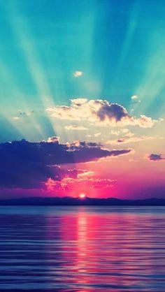 Ocean Rays - theiphonewalls.com                                                                                                                                                      Más