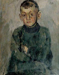 One of Madame Villain's Sons - Walter Richard Sickert (Munich, Germany, 1860 - 1942).