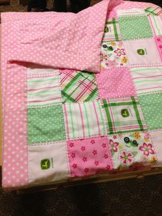 My 1st quilt made especially for my 1st little granddaughter.