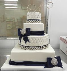 Four tiers of sparkle and shine